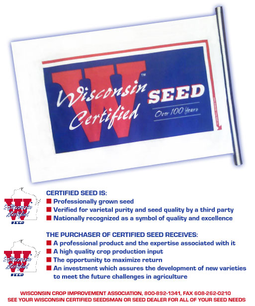Wisconsin Certified  Seed